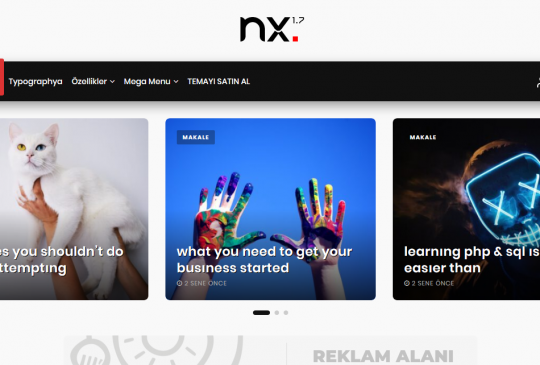 Kryex WordPress Temaları